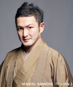 歌舞伎役者、中村獅童さん